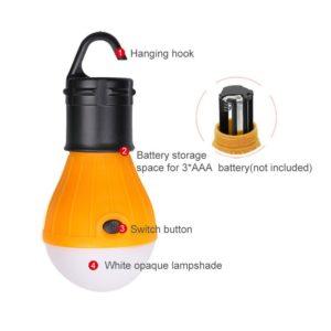 фонарик люстра для палатки туристический