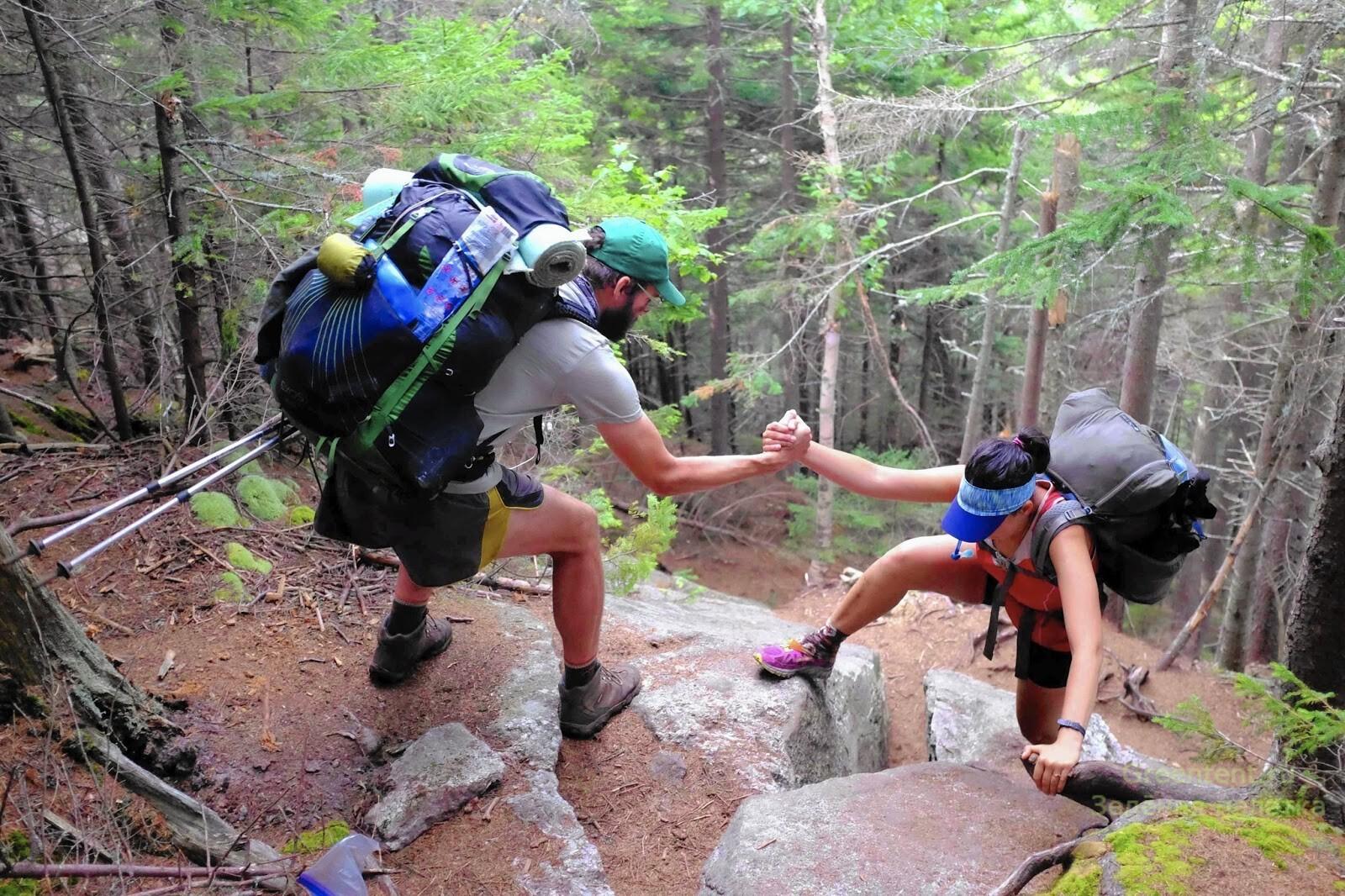 Пеший поход рюкзак горы