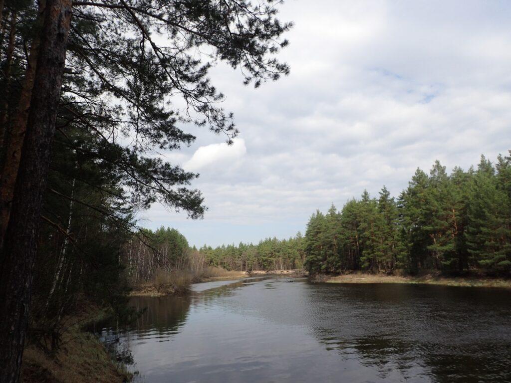 река Пра, водный маршрут